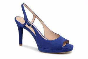 【超歓迎】 Unisa レディースシューズ Unisa High heels Tibet Blue KID SUEDE SAPPHIRE, 瀬棚町 889c8790