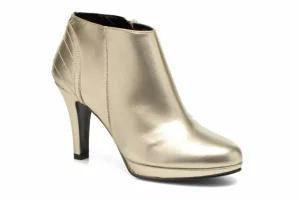 新発売の Anna Volodia Bronze レディースシューズ Ankle Ankle boots Gold Aida Bronze and Gold GALAXY LAMINADO ICAR, AMBRACE:eb774896 --- zafh-spantec.de