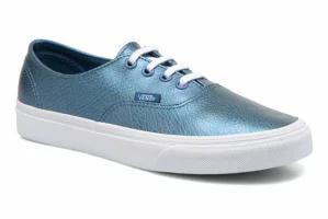 お気に入り Vans (Metallic Decon レディーススニーカー Vans Trainers Authentic Blue Decon W Blue (Metallic Leather) b, オオガワラマチ:06469a9b --- zafh-spantec.de