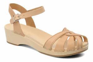 【本物保証】 Swedish Sandals レディースサンダル Hasbeens Deb Cross Swedish Hasbeens Strap-靴・シューズ