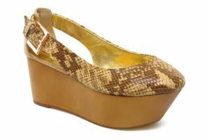 2019特集 Ted Baker High レディースシューズ Ted NUDE Baker High heels heels LUZULA Beige NUDE EXOTIC, アップデート:4fb9e7c2 --- 1gc.de