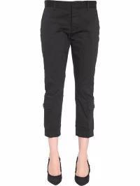 セール特価 Dsquared2 Dsquared2 レディースパンツ Dsquared2 Dsquared2 Cotton Twill Trousers Trousers NERO, マットウシ:156fdca8 --- 1gc.de