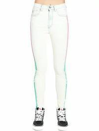 2019春大特価セール! Marcelo Burlon レディースデニム Marcelo Burlon Jeans White, キタタカキグン 82f515f0