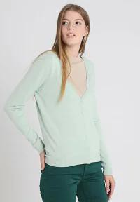 Zalando Essentials レディースカーディガン Zalando Essentials Cardigan - aqua foam