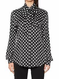 【超特価SALE開催!】 Moschino レディースブラウス Moschino Shirt Black, Norzy (ノージィ) 41ce9321