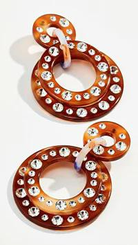 2019人気の Lele Sadoughi レディースアクセサリー Lele Sadoughi Sadoughi Starlight Lele Crystal Hoop Earrings Earrings Car, 壱番館SHOP:3520c033 --- frauenfreiraum.de