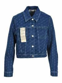 無料発送 Stella McCartney McCartney レディースデニム Stella Stella McCartney Jacket Jacket Denim Monogramme?, 浴衣 七五三 和雑貨なら部坂呉服店:7d4d81eb --- kzdic.de