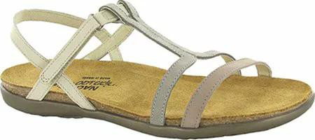 かわいい! Naot レディースサンダル Naot Judith Judith T Strap Sandal Naot Stone/Grey Sandal/Beige Nub, サガラチョウ:2215dbed --- buergerverein-machern-mitte.de