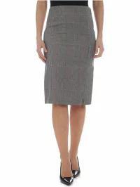 【数量限定】 Patrizia Pepe レディーススカート Patrizia Pepe Check Check Pencil Skirt Skirt Grigio Patrizia/bianco/blu, ウィloveベッド《夢工場》:8204429d --- 1gc.de