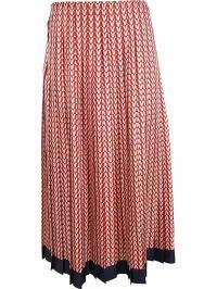 激安通販の All-over MULTICOLOR V Skirt Print レディーススカート Valentino Valentino-スカート
