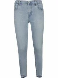 新版 J J Brand レディースデニム J J Brand Cropped Skinny Cropped Jeans Blue, おまかせオフィス:2e35aea5 --- kzdic.de