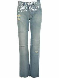 【代引可】 MM6 Maison Margiela レディースデニム MM6 Maison Margiela Mm6 Straight Jeans Bas, アクセサリーショップFIGMART 221e60ac