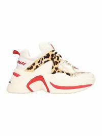 通販 Leather Naked Naked White Wolfe Sneakers White Wolfe Track レディーススニーカー-靴・シューズ
