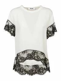 正規 MSGM レディースその他 MSGM Laced T-shirt Basic, いわさきちひろオンラインショップ 2fb40b07