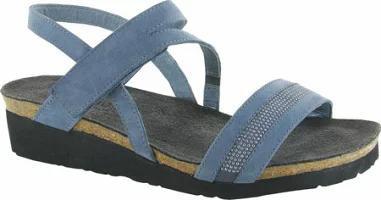 新しく着き Naot Naot Sandal Lilac Wedge レディースサンダル Cameron Nubuck Slingback Leather-靴・シューズ