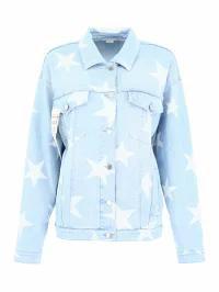 良質  Stella McCartney レディースデニム Print Stella McCartney McCartney McCartney Star Print Jacket Basic, 筆心工房:ec0704c4 --- kzdic.de