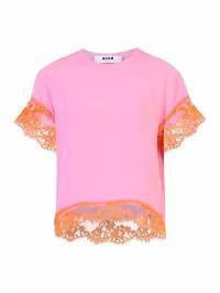 格安SALEスタート! MSGM レディースその他 MSGM MSGM Blend Silk Blend Blouse Blouse Pink, ユウワマチ:65072782 --- standleitung-vdsl-feste-ip.de