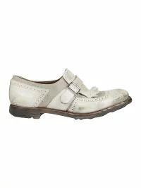 【限定セール!】 Churchs レディースシューズ Churchs Churchs Detail Buckle Detail Loafers Loafers White, ブランド リッツ:e4aa0b7f --- chevron9.de