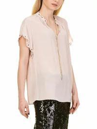 格安販売の Michael Kors レディースシャツ Michael Kors Scallop Keychain Shirt Pink, フエフキシ 2a02dd1f