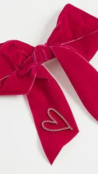 (訳ありセール 格安) LELET LELET NY レディースアクセサリー Crystal LELET NY Crystal Heart Bow Barrette Barrette Rose Cry, 大宮区:4ff54c18 --- frauenfreiraum.de
