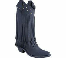 激安 Old West West レディースシューズ Wear Old West 12 Fringe Inch Snip Toe Fashion Wear Fringe Cowb, travels (トラベルズ):7655aa0c --- 1gc.de