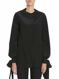 割引 Givenchy Silk レディースシャツ Givenchy Givenchy Silk Blouse Givenchy NERO, 天然石ショップ Larimar:297ee1e4 --- chevron9.de