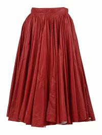 【SEAL限定商品】 Calvin Klein レディーススカート Calvin A-line Calvin Klein A-line Klein Skirt Red Red, ブランドショップ ゴーガイズ:ab706f2a --- kzdic.de