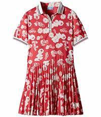 専門ショップ キッズドレス Kids Polo Lanvin Short Lanvin Kids with Sleeve Dress Pl Floral Print-キッズ