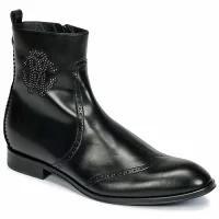超爆安  メンズサンダル Black Roberto Cavalli FINERO Cavalli Roberto-靴・シューズ
