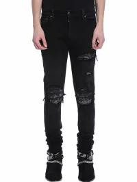 買い保障できる AMIRI Jeans メンズデニム AMIRI Black Denim AMIRI Denim Jeans black, 斐川町:525ffbcf --- united.m-e-t-gmbh.de