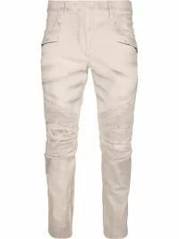【GINGER掲載商品】 Jeans Balmain Paris Bianco メンズデニム Balmain-パンツ・ボトムス