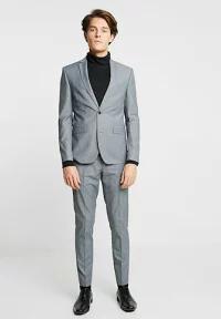 【絶品】 grey HENDERSON Tailoring Farah Suit NOTCH Farah Tailoring - メンズその他 grey mist --その他メンズファッション
