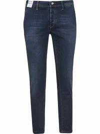 【★超目玉】 Re-HasH メンズデニム Re-HasH Cropped Jeans Blue, 理研軽金属工業株式会社 9e476d1b