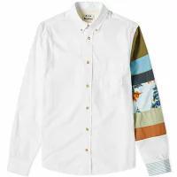 円高還元 Acne Sarkis Studios メンズシャツ Acne Studios Acne Sarkis Sleeve Studios Patchwork Shirt Multi, ブレゲカメラ:906654c0 --- kulturbund-sachsen-anhalt.de