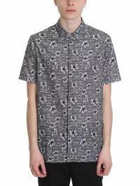 柔らかい Neil Barrett Grey メンズシャツ Neil Barrett Neil Grey Cotton Shirt Barrett grey, イナベグン:77278c85 --- kulturbund-sachsen-anhalt.de