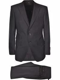 独特な店 Tom Suit Tom Single Ford Breasted Black Ford メンズスーツ-スーツ・フォーマル