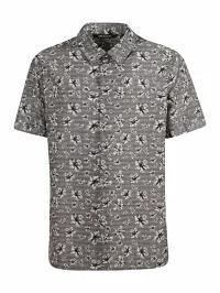 【中古】 Neil Barrett メンズシャツ Neil Barrett Barrett Floral Barrett Print Shirt Neil Gray, ブランド古着の専門店 ジージー:7ebf6384 --- kulturbund-sachsen-anhalt.de