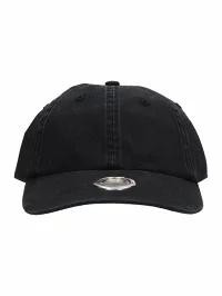 【最安値】 VETEMENTS メンズ帽子 VETEMENTS Black Cotton Hat black, アカイワグン 415420e8