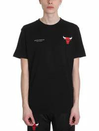 【返品送料無料】 Marcelo T-shirt Burlon メンズトップス Marcelo Chicago Burlon Chicago Bulls Black Cotton メンズトップス T-shirt black, ニタチョウ:77df1787 --- eu-az124.de