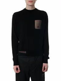 【楽天最安値に挑戦】 Cotton Yarn Black Pocket メンズトップス OAMC Black Chest Shirt OAMC-トップス