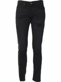 使い勝手の良い Dondup メンズデニム Dondup Ripped Detail Jeans Black, テニススタジオViva-T 2162a3d6