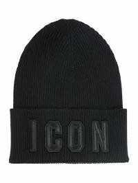 【売れ筋】 Dsquared2 Dsquared2 メンズ帽子 Dsquared2 Wool Icon Beanie Beanie Hat Icon Nero, ステンレスアートG-1:8fd49bb6 --- zafh-spantec.de