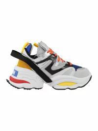 全日本送料無料 Dsquared2 The BLU+BIANCO+NERO Dsquared2 Sneaker Giant メンズスニーカー-靴・シューズ
