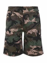 【2018A/W新作★送料無料】 メンズパンツ NERO Valentino ARMY (K Shorts Valentino CAMOU Grid Camouflage Vltn-パンツ・ボトムス