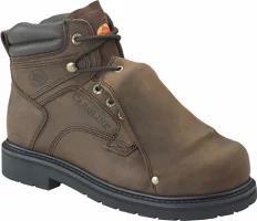【税込】 メンズシューズ 599 Carolina Steel Carolina Dark Boot Brown 6 Toe Leather Metatarsal-靴・シューズ