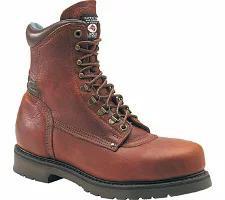 宅配 Carolina メンズシューズ Carolina Domestic 8 Plain Toe Steel Toe 1809 Boot Amber Gold, ice-cream 62dce7eb