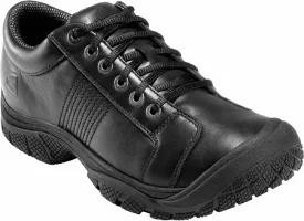 最高級 Keen Utility メンズシューズ KEEN Utility PTC Oxford Black Leather, イーバリュージュエリー 6170bef3