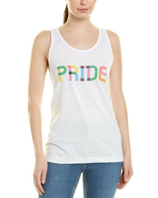 ファッション トップス Gilt Womens Pride Tank L White