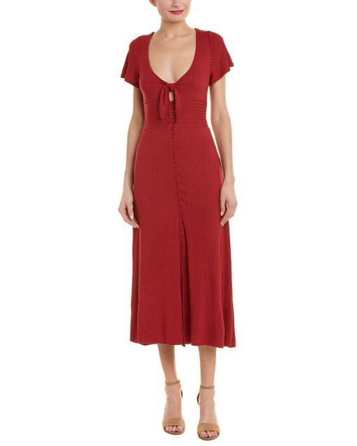 Marvel ファッション ドレス Dance & Marvel Ribbed Midi Dress