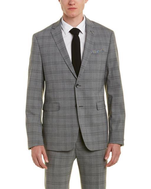 公式 Original Penguin オリジナルペンギン ファッション パンツ Original Penguin Original Skinny Fit Penguin Wool-Blend Wool-Blend Suit With Flat Front Pant, CROW 湘南バイカーズショップ:cb468b2f --- oeko-landbau-beratung.de